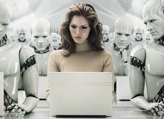 človek in roboti