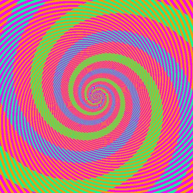 spirala barv