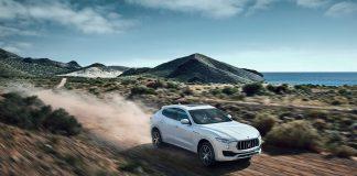Maserati Levante vožnja