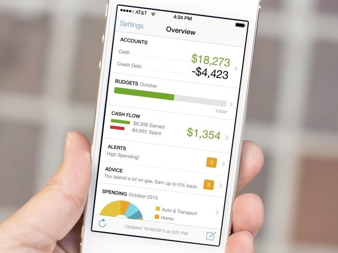 aplikacija za nadzor osebnih financ