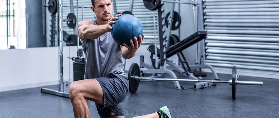 izvajanje vaj v fitnesu