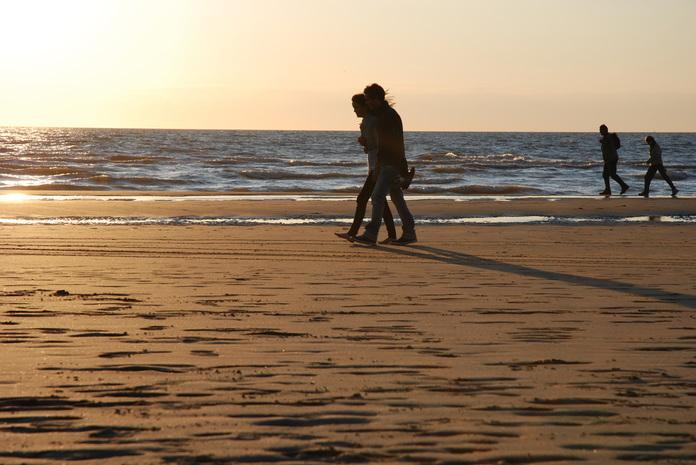 sprehod po plaži