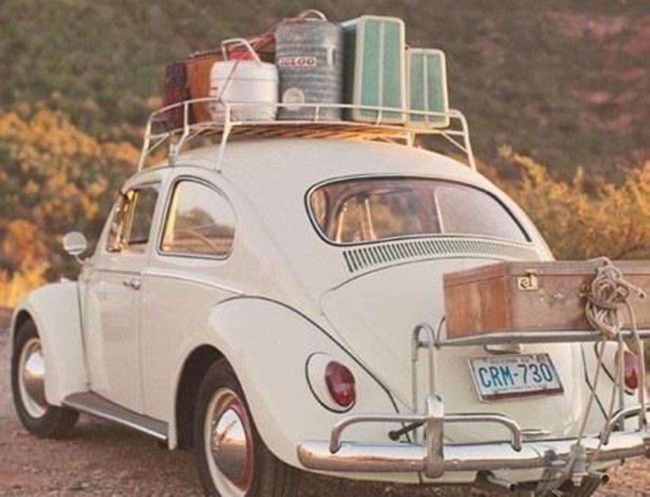 prtljaga v avtomobilu