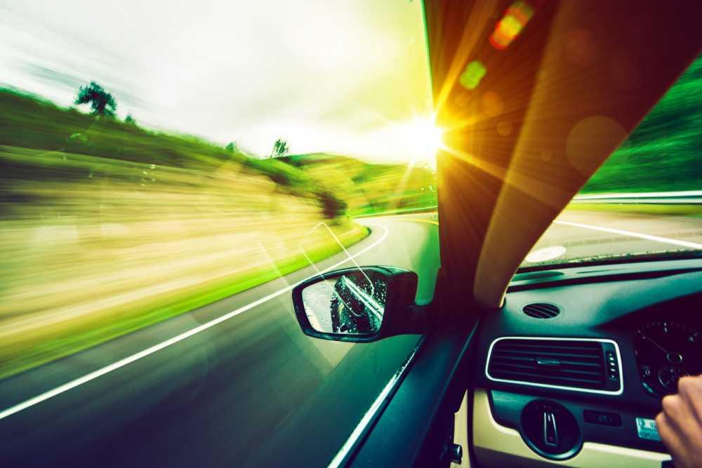 vožnja spomladi