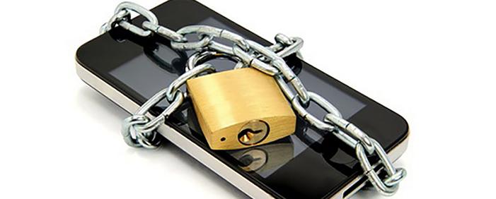 zaščiteni podatki na telefonu