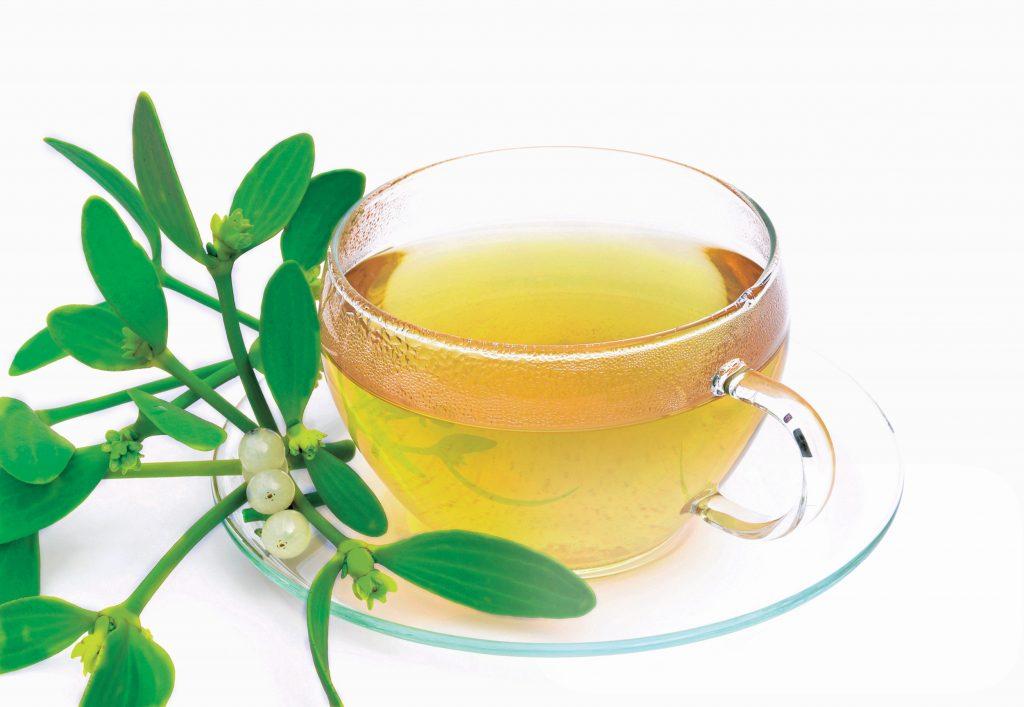 čaj iz rastline bela omela