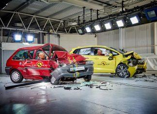 Rover 100 in Honda Jazz preizkus trka ob dvajsetletnici