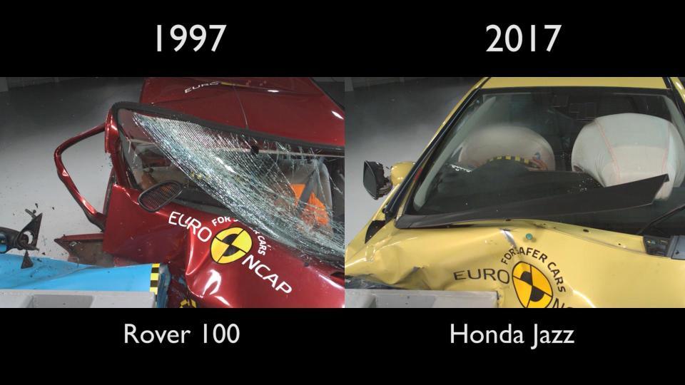 Rover 100 (1997) - Honda Jazz (2017)