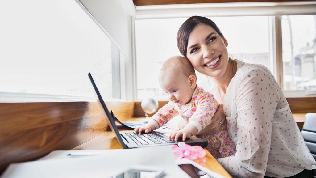 delo od doma za mamice
