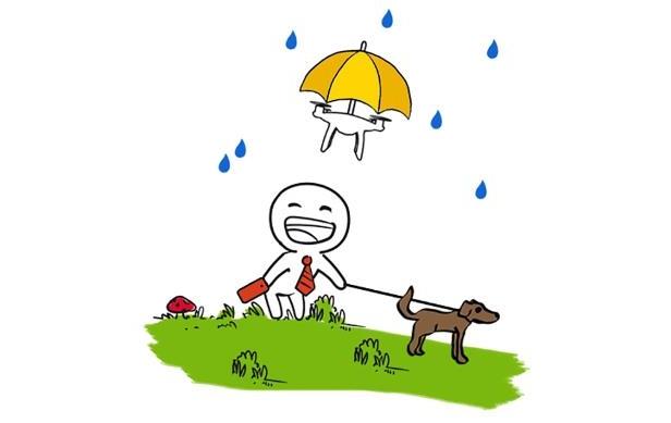 dežnik dron