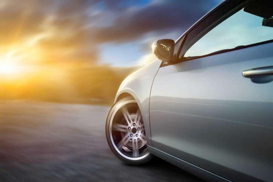 očiščen avtomobil