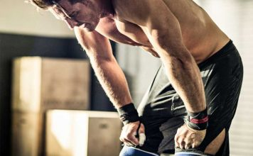počitek med vadbo