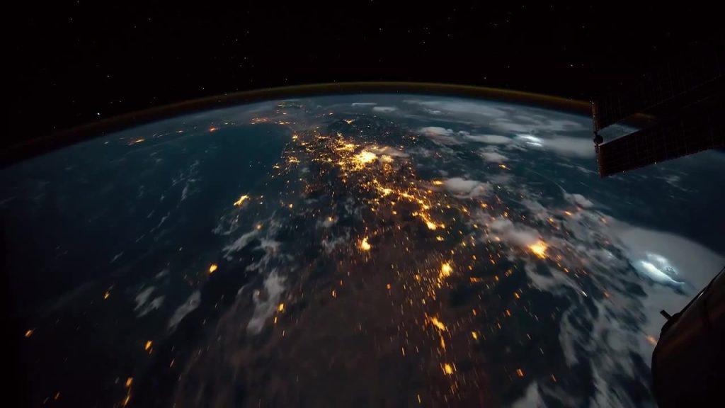 posnetek Zemlje iz vesolja