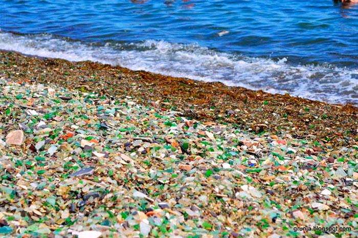 steklena plaža v rusiji