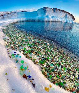 steklena plaža