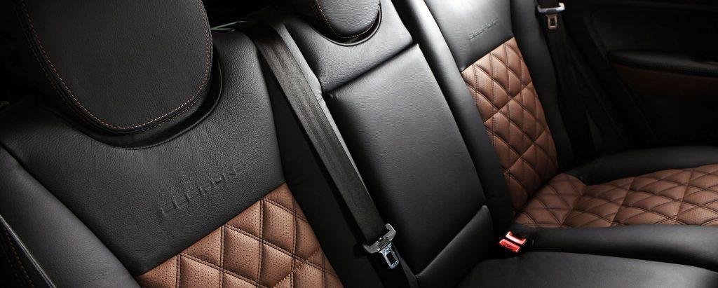 usnjeni sedeži v avtomobilu