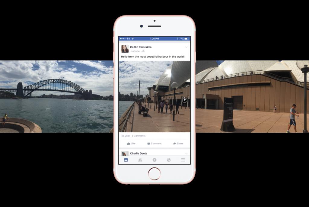 Facebook-potovanje