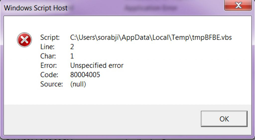 Windows Script Host