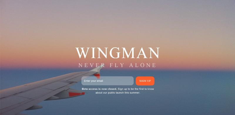 Wingman aplikacija