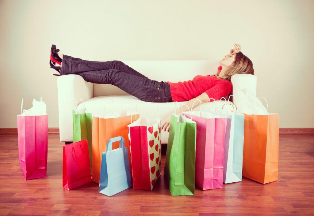 nakupovalna terapija