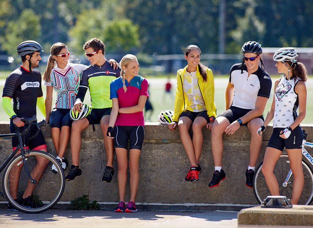 oblačila za kolesarjenje