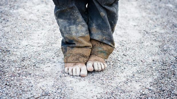revščina v družini