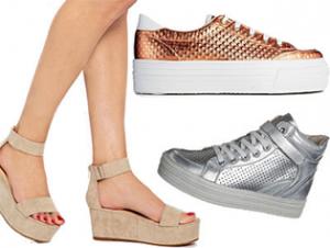 čevlji z podplatom
