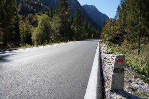 Cesta proti Nevejskemu sedlu